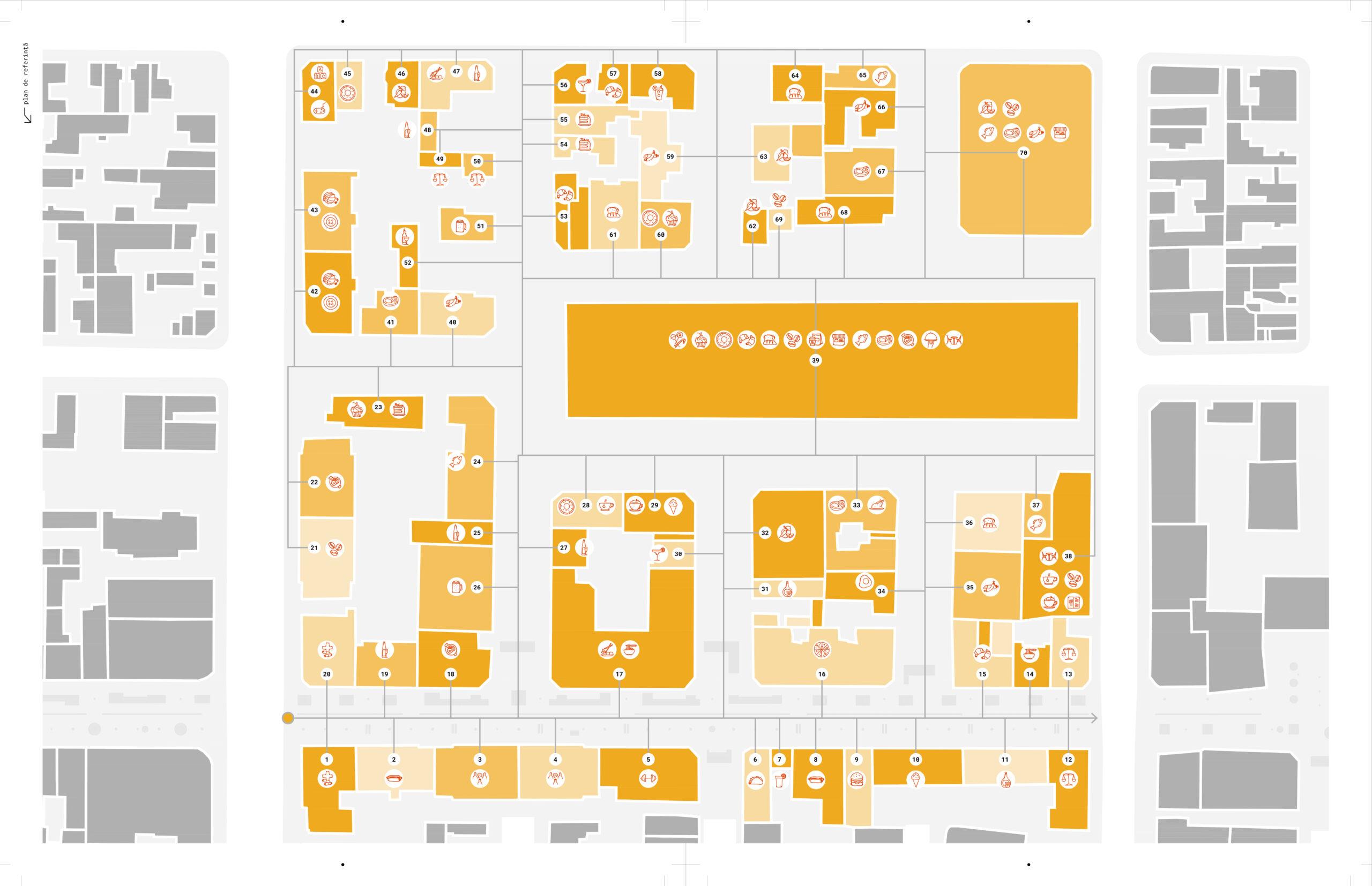 Propunere de intervenție - Zona 2 extinsă Bucătărie mondenă